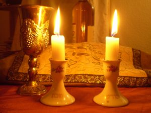 """""""Shabbat Candles"""" by Olaf.herfurth - Own work. Licensed under CC BY-SA 3.0 via Wikimedia Commons -"""